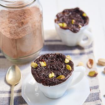 Mug Cakes Brownies