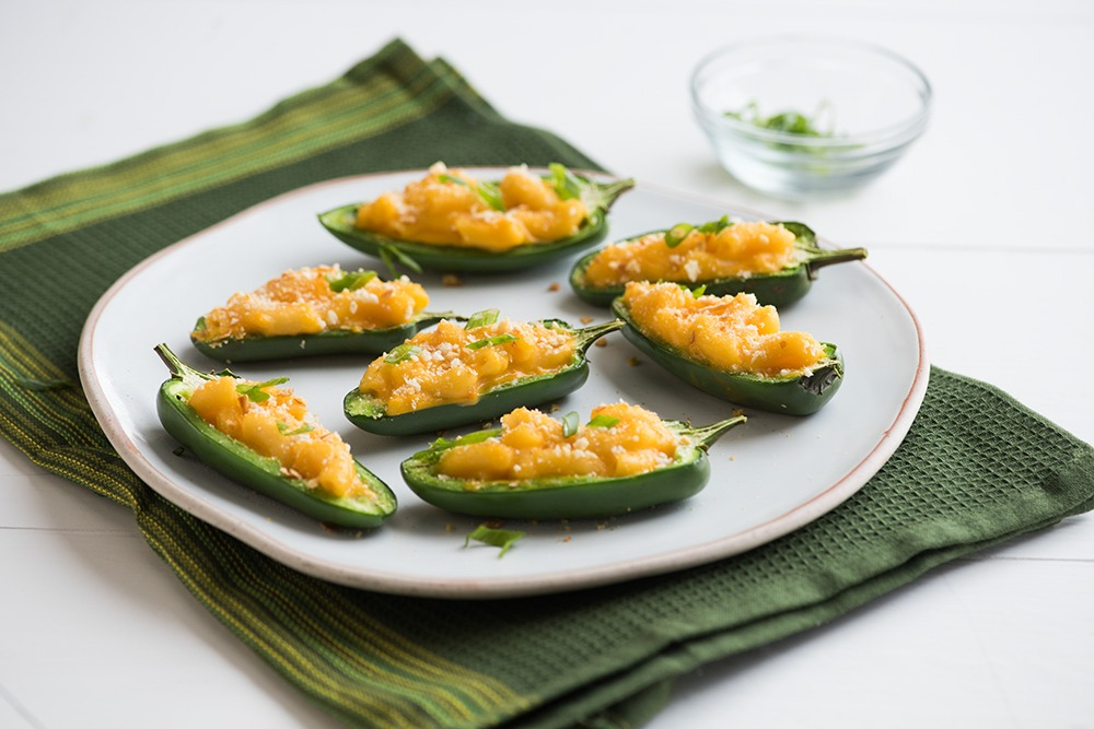 Mac & Cheese Jalapeno Poppers