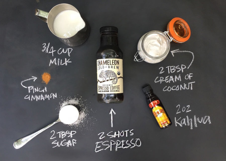 Chameleon Cold-Brew Coconut Kahlua Latte