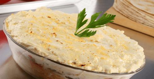 Pastel azteca de sardina