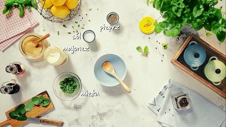 Miętowy majonez