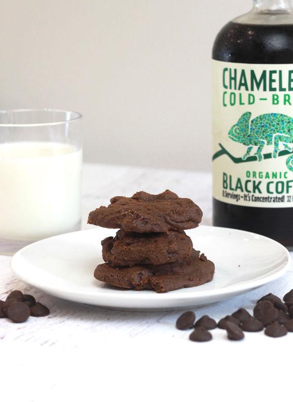 Cold Brew Coffee Dark Chocolate Cookies