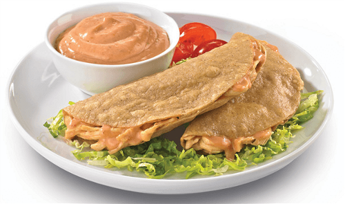 Quesadillas de pollo picositas