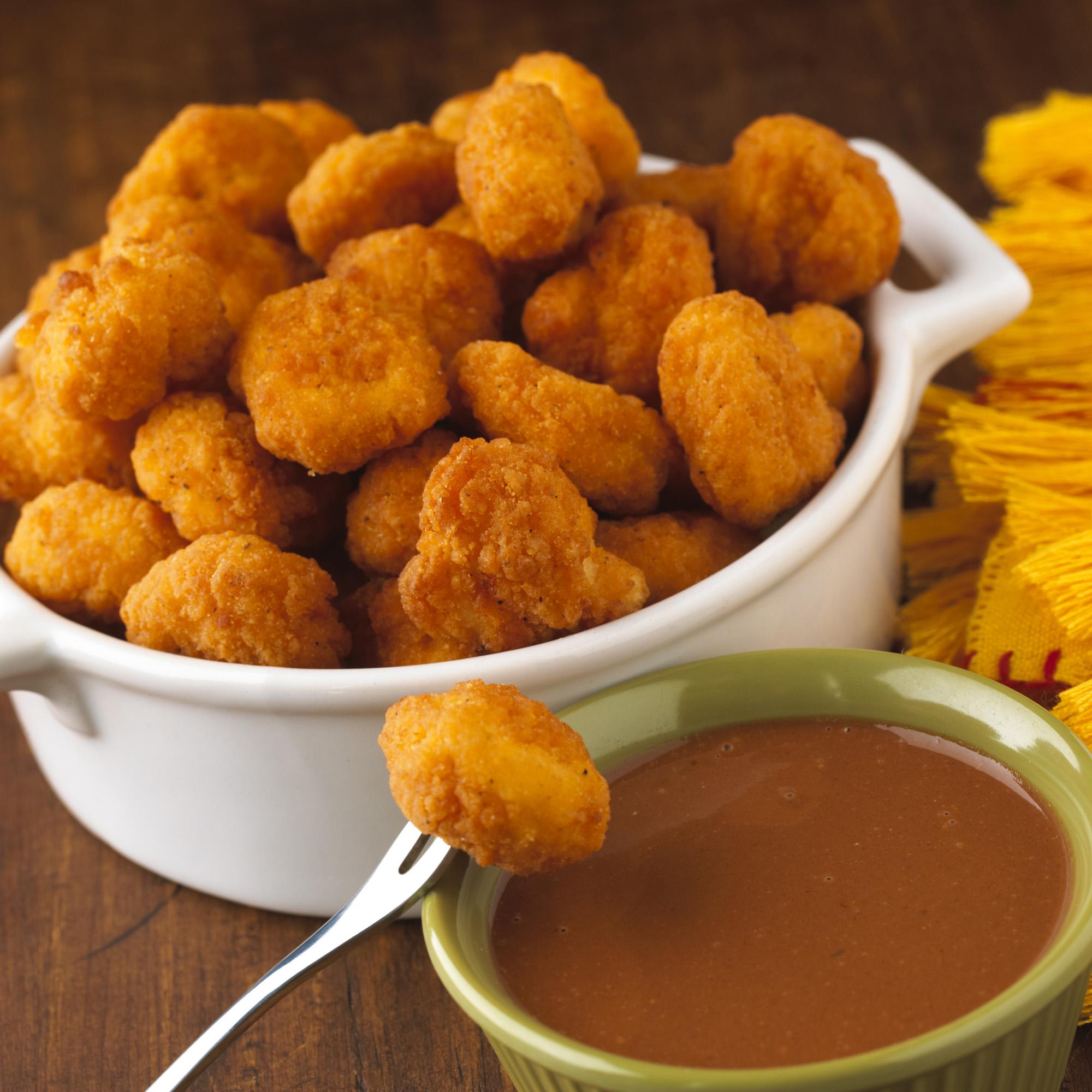 Popcorn con salsa agridulce