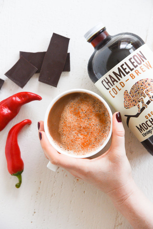Cayenne Cacao Cold Brew Latte