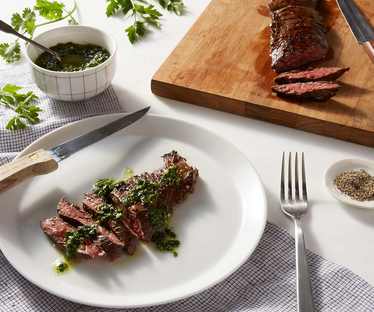 Arrachera (Skirt Steak) with Chimichurri image