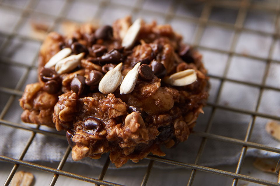 Flavour-packed Chocolate Banana Protein Cookies
