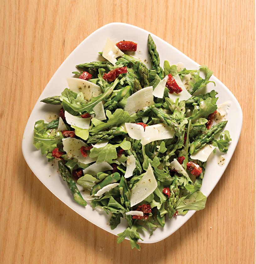 Asparagus & Arugula Salad
