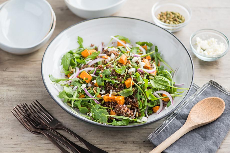 Quinoa & Sweet Potato Salad