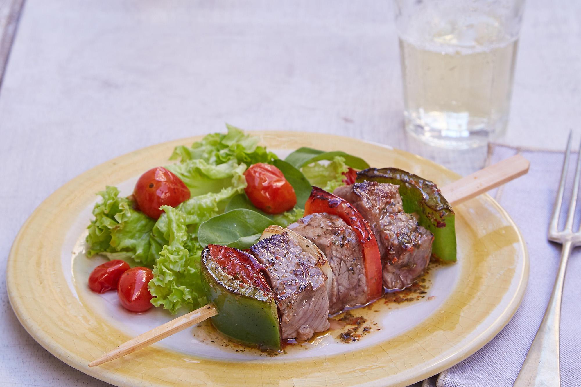 Brochette de carne