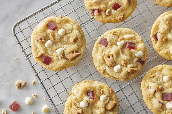 Strawberries & Cream Cookies
