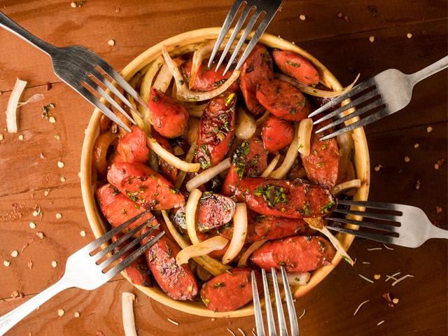 Chorizo Guisado