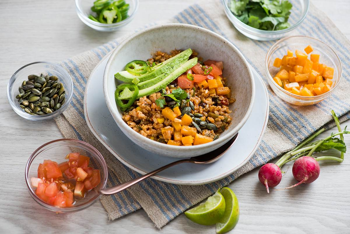 Spicy Mexican Rice Bowl