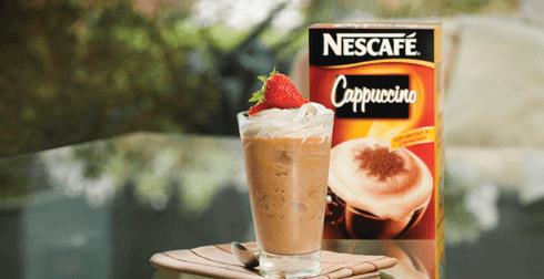 Frappuccino placer de fresa