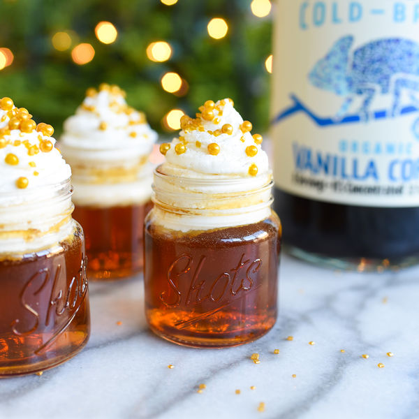 Holiday Cookie Cold Brew Shots