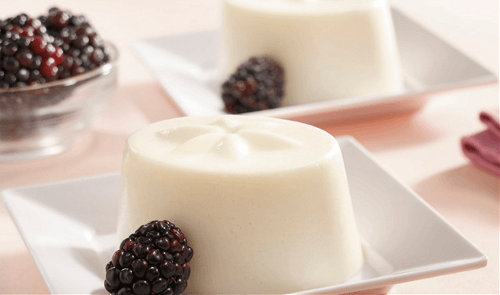 Gelatina encantada de yoghurt