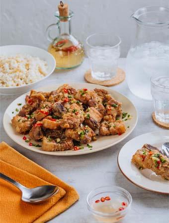 Crispy Spicy Liempo