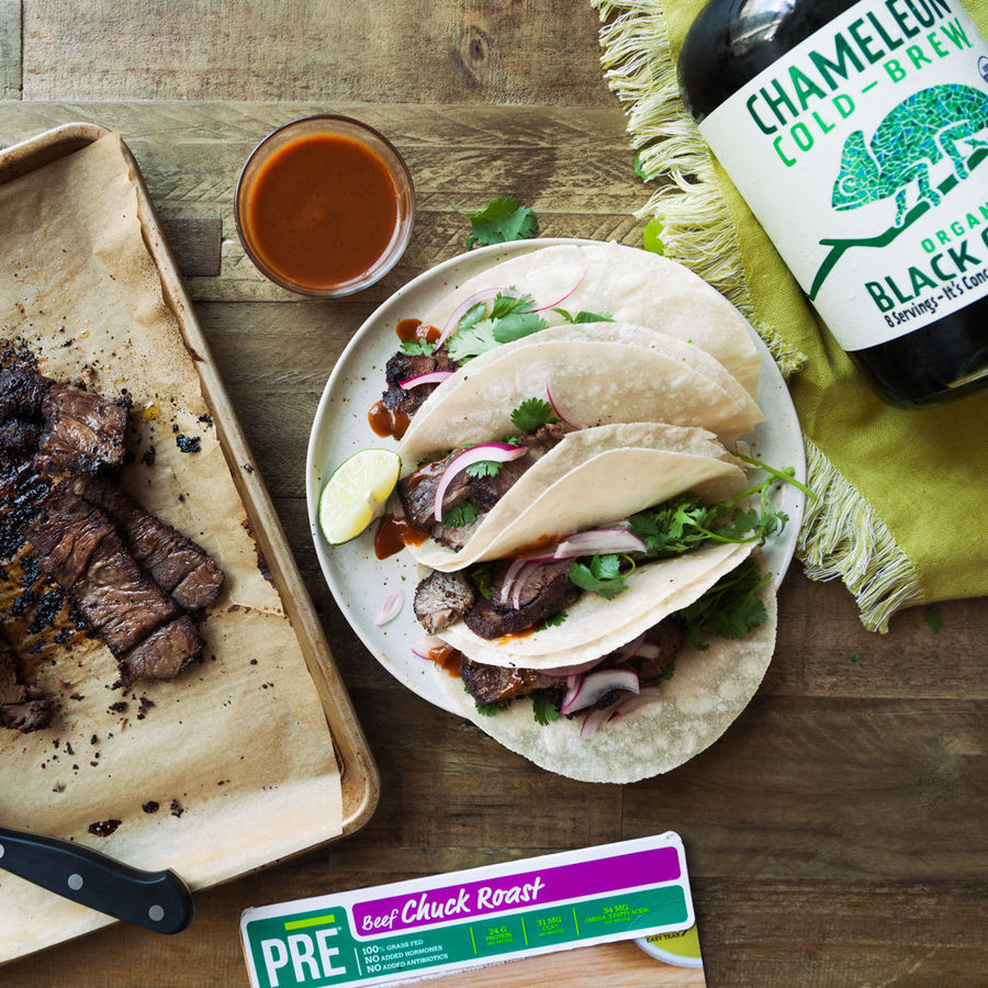 Cold Brew Smoked Texas Tacos
