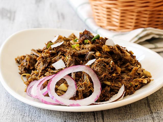 Ropa vieja al curry