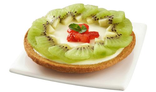 Tartaletas chocolate blanco y frutas