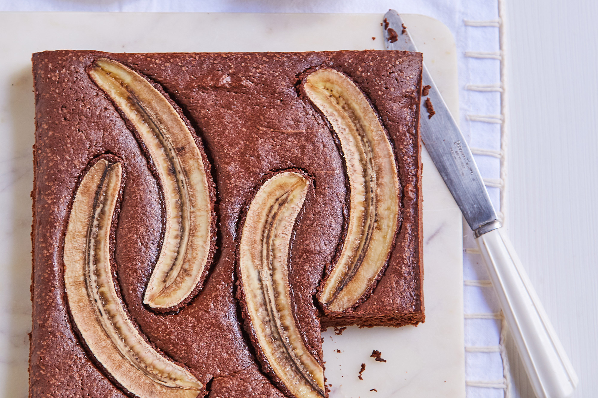 Brownie con Banana