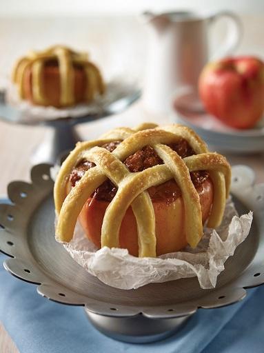 Manzanas rellenas de Dulce de Leche