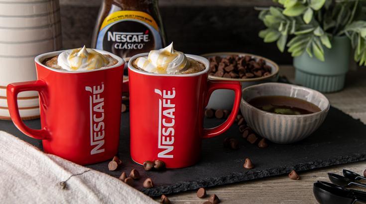 Café con chocolate y chocolate