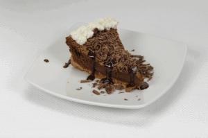 Cheesecake intenso de chocolate
