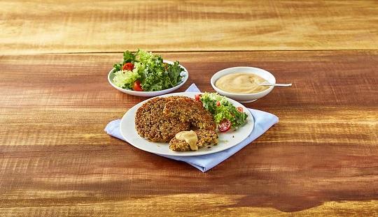 Hamburguesa de lenteja y quinoa