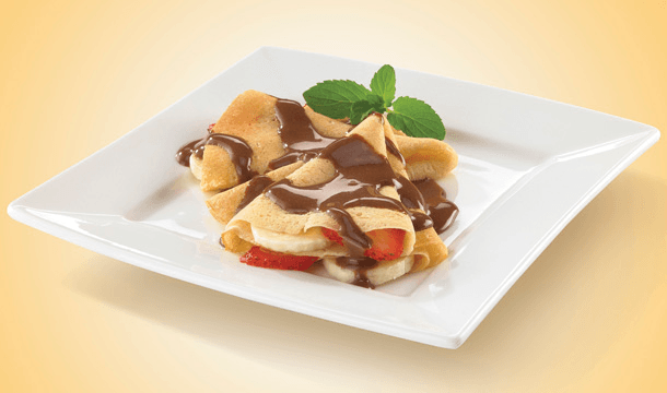 Crepas de chocolate