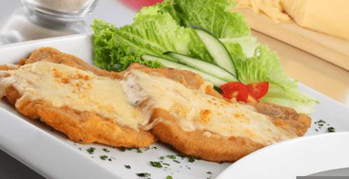 Chuletas de cerdo con queso