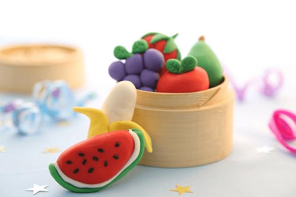 Frutitas de fondant