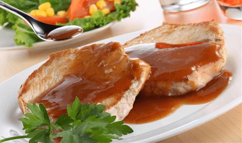 Lomo en salsa de tamarindo