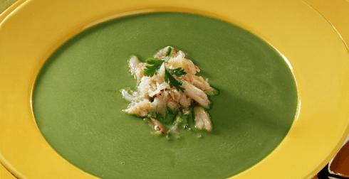 Sopa de jaiba en verde