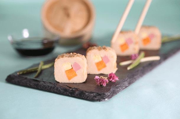 Sushi de papa