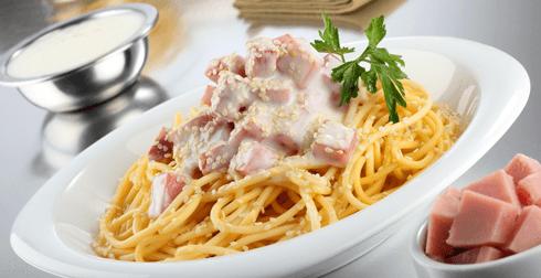 Spaghetti al yoghurt