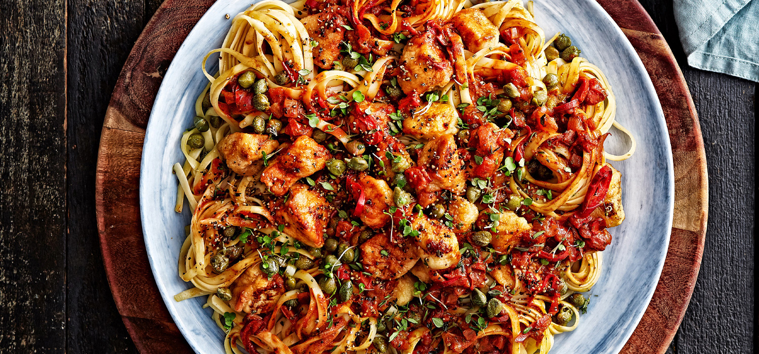 Chicken Cacciatore from Italy