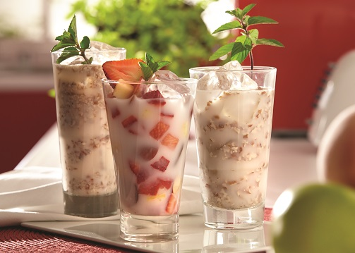 Agua de frutas deslactosada