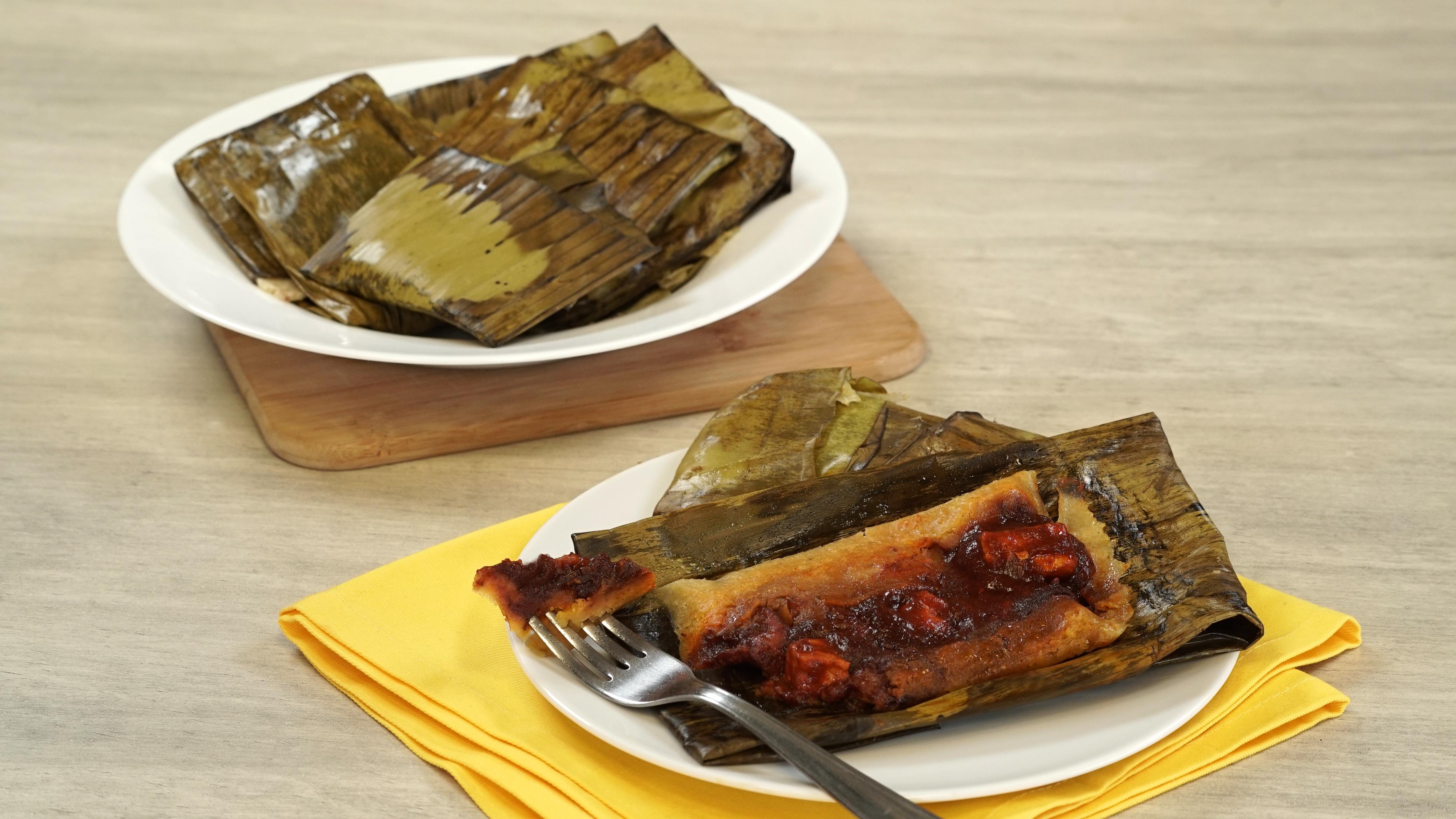 Tamales de asado de cerdo