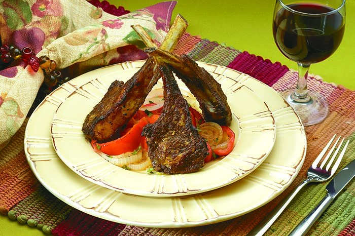 SPICED RUBBED LAMB CHOPS