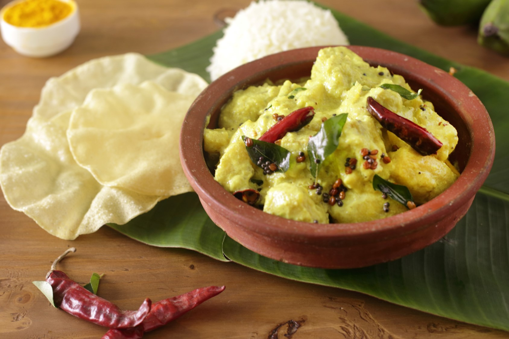 Kerala Raw Banana Curry