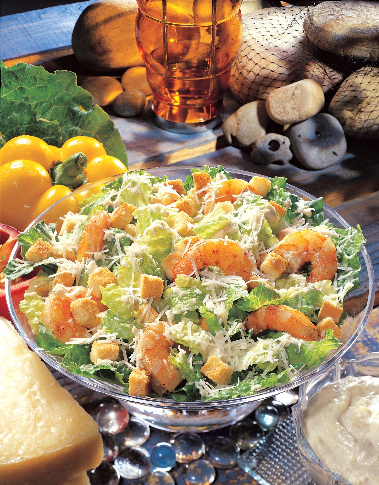 Grilled Shrimp Caesar Salad