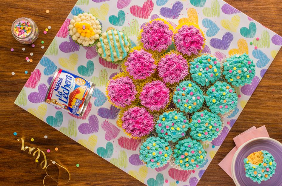 Pastel de cupcakes