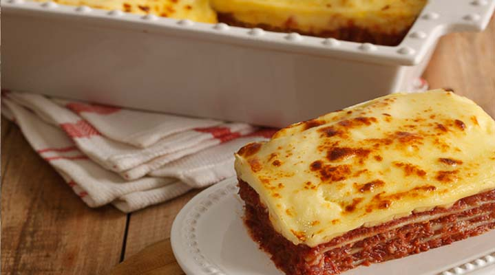 Corned Beef Lasagna