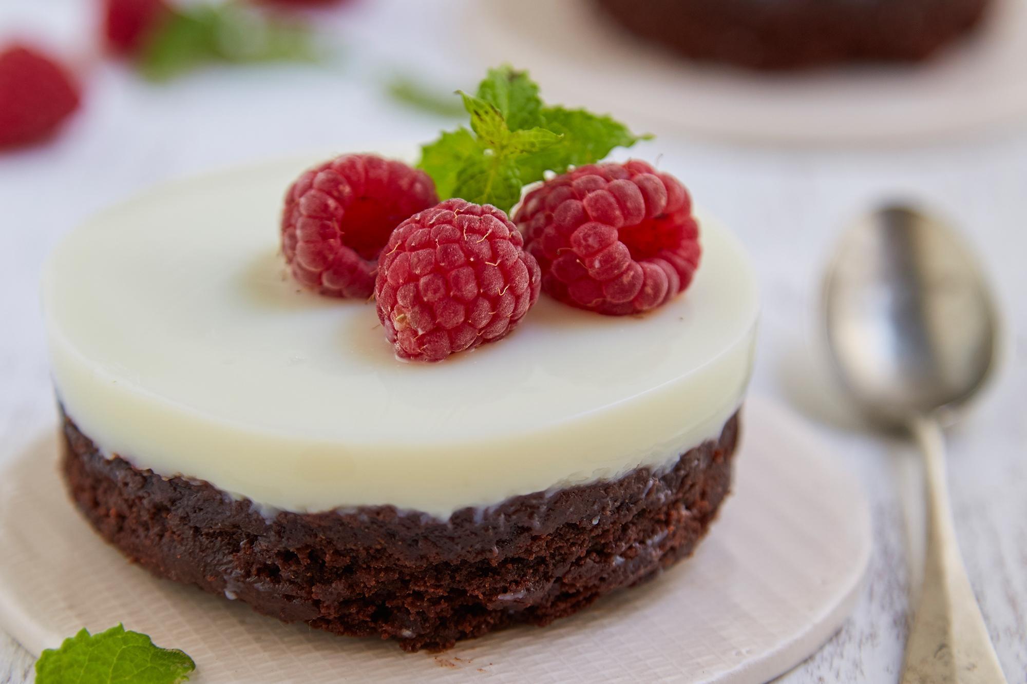 Mini cakes de brownie