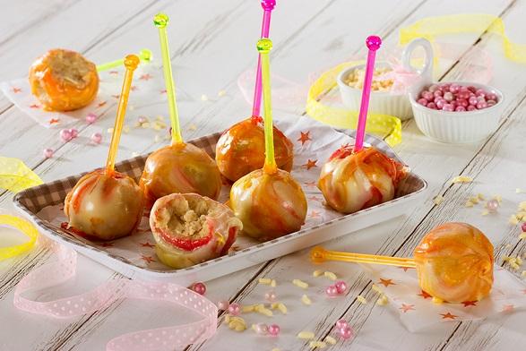 Cake pops de nuez