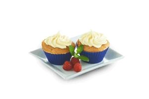 Muffins frambuesa-chai