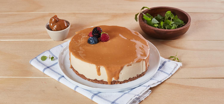 Cheesecake de Manjar