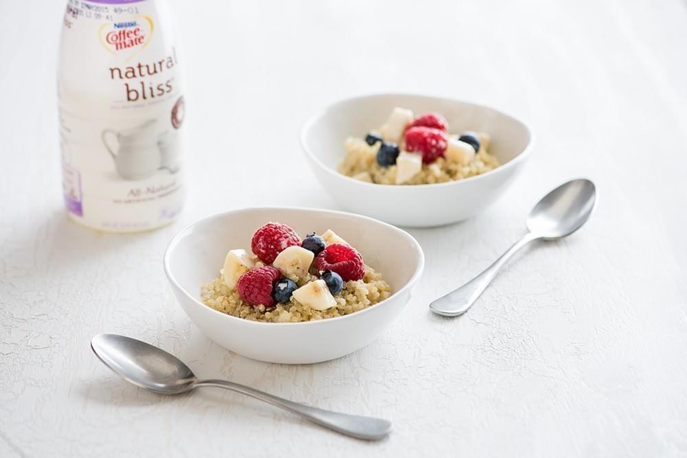 Quick Breakfast Quinoa