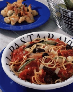 Linguine arrabiata